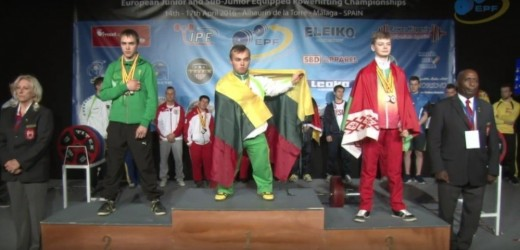 Egidijus Valčiukas - Europos jaunių čempionas