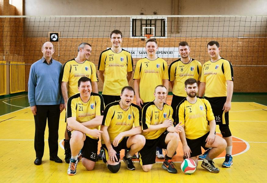 Kuršėnų Kristalo tinklinio komanda 2016 m.